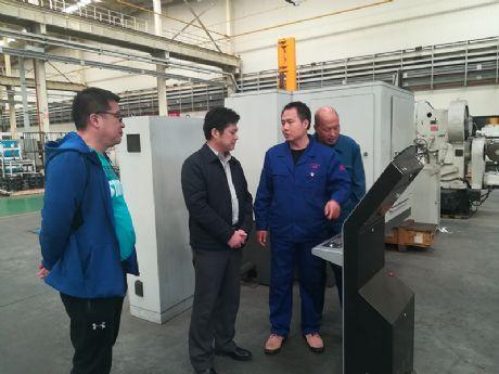 千赢国际老虎机与煤机公司传动分厂开展校企合作